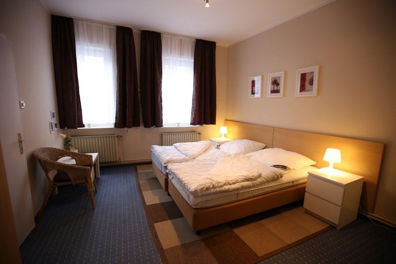 Schlafzimmer - Gruppenhäuser Lehmann, Gruppenhaus Harz