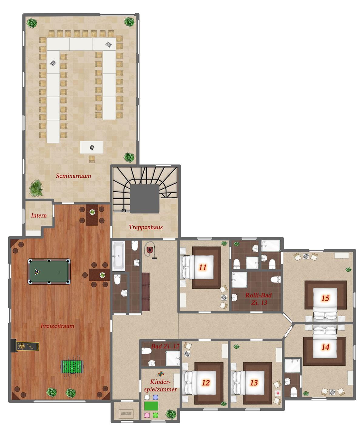 Grundrisse Gruppenhäuser Lehmann Homepage